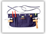 Cotton Apron & Bag